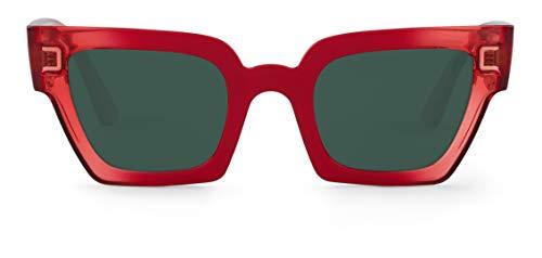 Mr Boho FRELARD Montures de lunettes, Rouge (Cherry/Classical Lenses), 45 Mixte Adulte