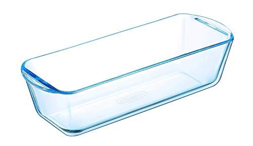 Dajar Pyrex Kastenform 28 cm, Glas, Transparent, 28 x 11,5 x 7,5 cm