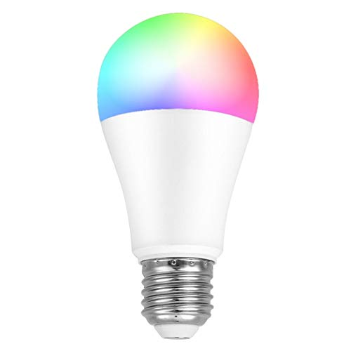 5 Color Remote Control LED Lamp Brightness Adjustable E26/E27 Light Interface Voice and Delay Control Smart Light Bulb Gift for You or Your Friends