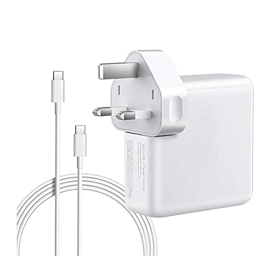 SUNMACOOLA Mac Book Pro USB C 30W Charger, Mac Book air charger USB-C Power Adapter Compatible with Mac Book 11''&13''&15'' Inch 2016 2017 2018 2019 2020, Works with USB C Tablets and More