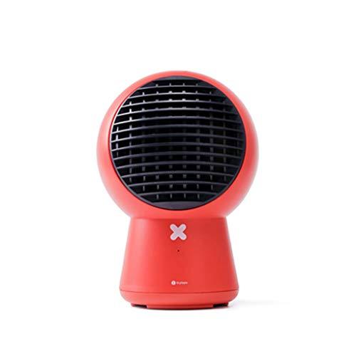 Chauffage et refroidissement Ventilateur à circulation d'air à double usage Chauffage électrique Chauffage domestique Mini Small Sun (Color : Red)