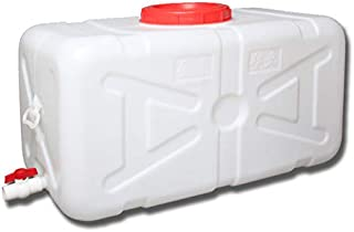 MNSSRN Réservoir d'eau en Plastique Domestique de qualité Alimentaire, Seau de Rangement rectangulaire épaissi extérieur a...