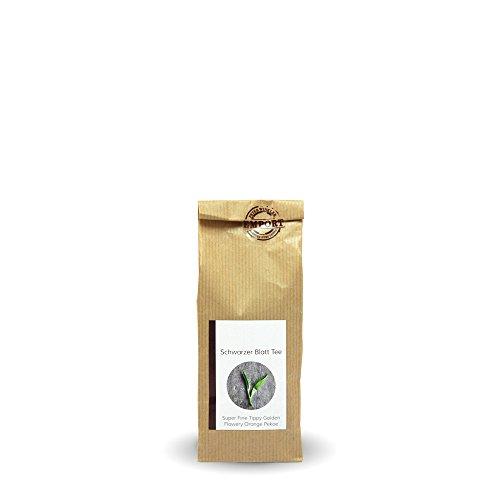 Schwarzer Blatt-Tee 100g aus zertifiziertem EM® Bio-Anbau aus Nepal / FTGFOP (Fine Tippy Golden Flowery Orange Pekoe)