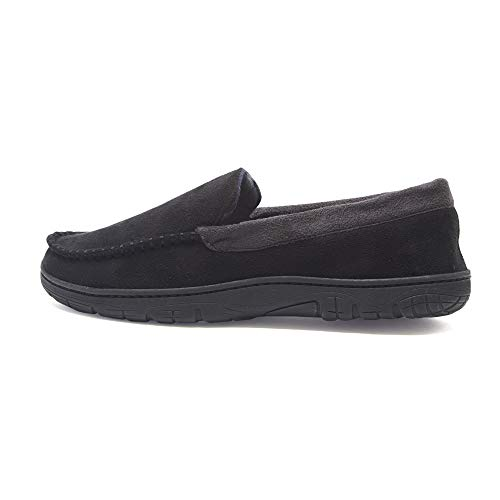 Hanes Men's Moccasin Slipper House Slip-on