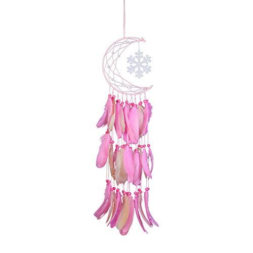 Tabpole Atrapasueños luna atrapasueños colgante decoración de la habitación del hogar para boda fiesta bendición regalo