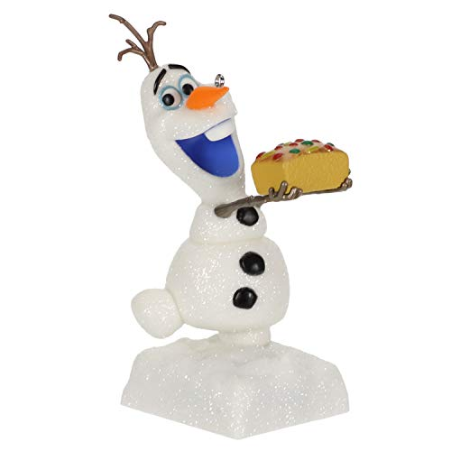 Hallmark Keepsake Christmas Ornament 2019 Dated Disney Olaf's Frozen Adventure That Time of Year with Sound