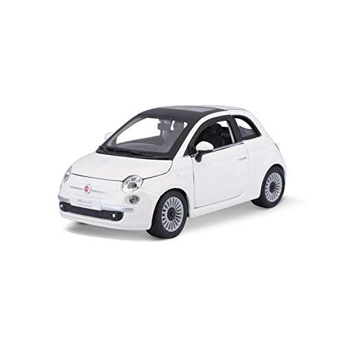 Bburago 15622106 – Fiat 500, 2007, 1 : 24 (Couleurs Assorties)