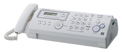 Panasonic Plain Paper Fax/copier- Ultra-compact Design.