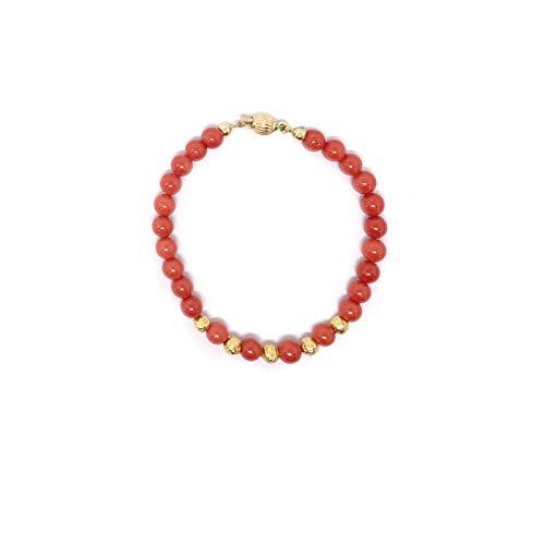 Bracciale in Corallo Rosso Rubrum