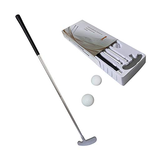 MTK GOLF Putter Clubs Two-Way Putters with Blade Head Sturdy Shaft for Right and Left Hander Indoor Golf Putting Training Aids with 2 Practice Golf Balls Nice Gift -34