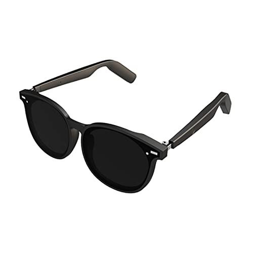 GXYGXY Gafas de Sol con Bluetooth, Gafas de Sol para música Auriculares compatibles con Escuchar música y Hacer Llamadas telefónicas, con Lentes de Seguridad Protectoras polarizadas, aptas