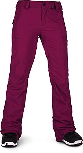 Volcom Women's Flor Stretch Gore-tex Snowpant, Magenta, Large