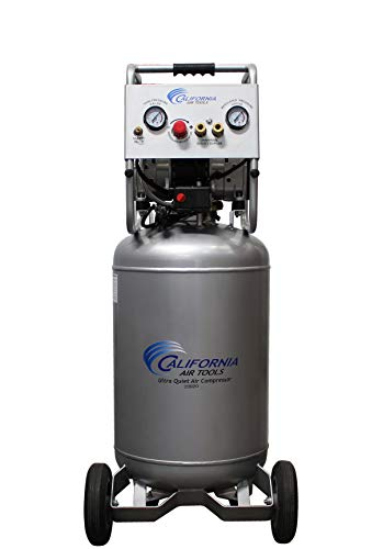 California Air Tools 20020 Ultra Quiet & Oil-Free Air Compressor 2.0 Hp, 20.0 Gal. Steel Tank Air Compressor