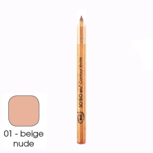Lippenkonturenstift 01 Nude Beige