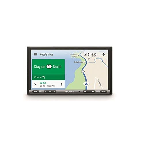 "Sony XAV-AX3005DB SintoMonitor 2DIN, Ricezione DAB/DAB+, Schermo da 6.95"" Touch Screen, Compatibile con AndroidAuto e Apple CarPlay, Bluetooth, Microfono Esterno Incluso, 4 x 55 W, USB (iPhone/iPod)"