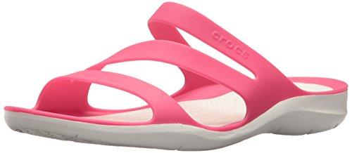 Crocs Damen Swiftwater Women Sandalen, Pink (Paradise Pink/White 6NR), 39/40 EU