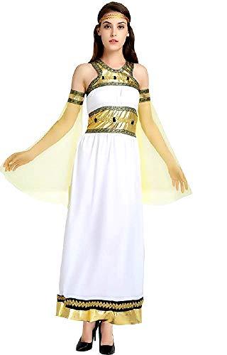 Arabisch kostuum - moslim - odalisque - prinses voor vrouw - meisje - vermomming - carnaval - halloween - witte kleur - one size - cadeau-idee voor kerst en verjaardag cosplay