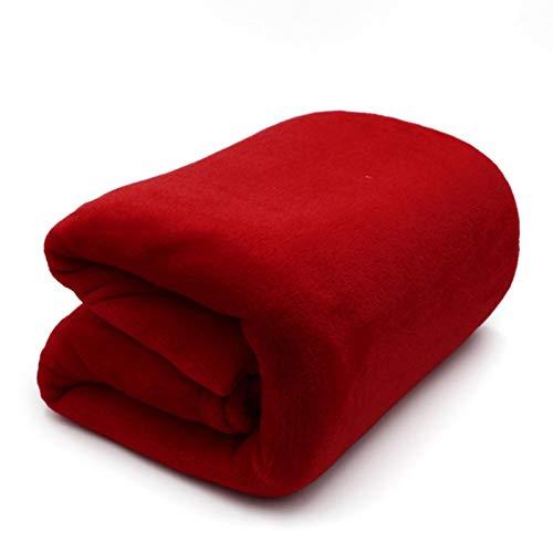 Manta de franela para sofá o cama, cálida de microfibra de microfibra, cómoda, manta cálida, suave, antipiloto