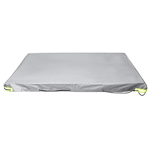 JLMOH Cubierta para Coche Remolque Camper Cubierta Impermeable Heavy Duty 112 pies x90cm 5 pies 4 pies 5' x 4' ft (Color : Grey)