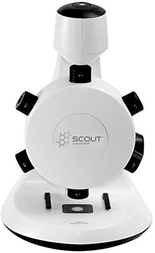 HamiltonBuhl SCT18 Scout Digital STEM Microscope with Six Magnification Lenses, CMOS Sensor, Max. Still-Image Resolution 1600x1200 Pixels (UXGA), Max. Video Resolution 640x480 Pixels (VGA)