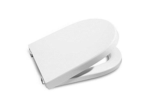 Roca A8012A0004 Meridian  -Tapa y asiento para inodoro, color blanco