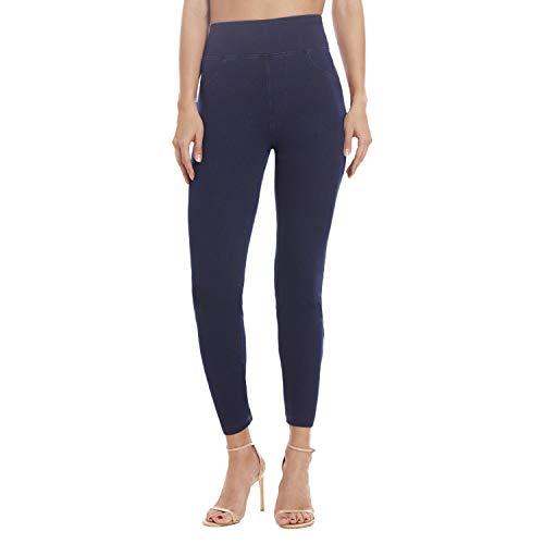 Leggings for Women - Premium Stretch Skinny Jeggings for Women - Women Jeggings Dark Blue 2X