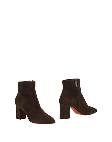 SANTONI Suede Ankle Boot