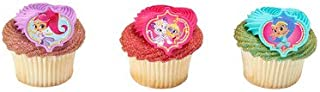 Shimmer & Shine Make a Wish Rings Cupcake Toppers - 24 pc