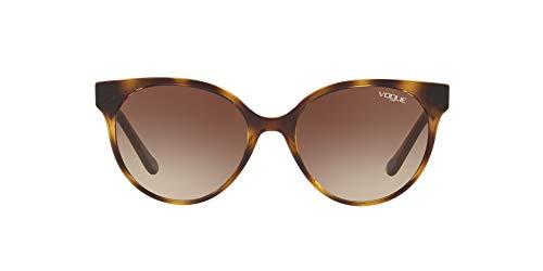 Vogue 0VO5246S W65613 Sonnenbrille, Braun (Dark Havana), 53