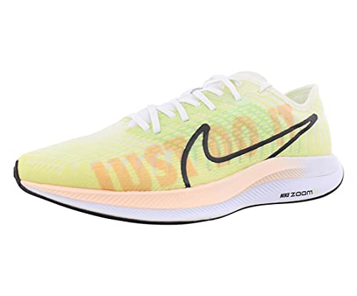 Nike Zoom Pegasus Turbo 2 Women's Running Shoe, Luminous Green/Black-white-crimson Tint, 9.5