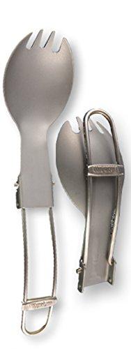 Chaise de camping pliable Titane Spork – Chemise poche/cuillère/fork- extérieur Couverts