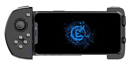 Xyfw Mando Inalámbrico De Juegos Móviles Touchroller Bluetooth para El Teléfono Android PUBG Móvil Call of Duty