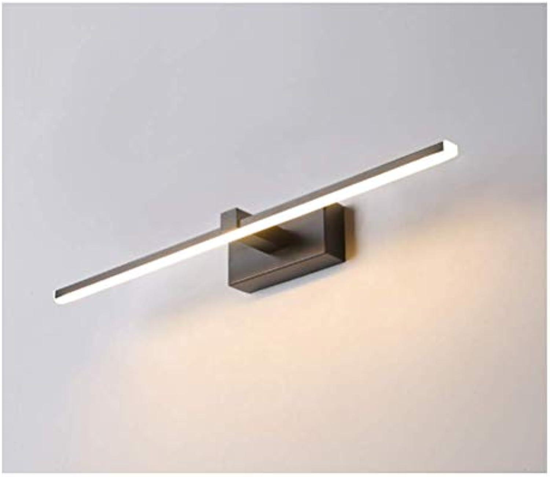 HN Lighting Make-Up Licht Spiegel Frontleuchte, einfache Moderne Led Bad WC Schminktisch Badezimmerspiegelschrank Speziallicht (Farbe   Warmes licht, gre   40 cm)