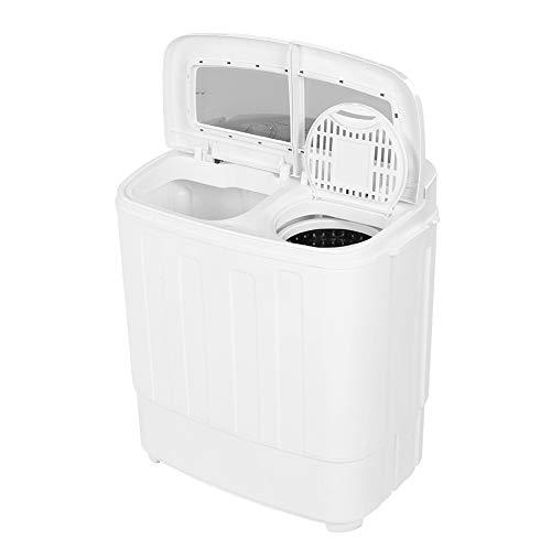 2in1 Waschmaschine mit Schleudertrockner Wäscheschleuder Waschautomat Waschen bis 4.5 KG, Schleuderkammer 3.5 KG für Einzelwohnung Schlafsaal Zuhause