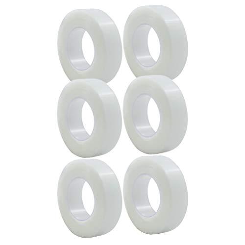 EXCEART 6 Rouleaux de Ruban Adhésif Microporeux Bandage Adhésif Rouleau Adhésif Pansement Respirant pour Incisions Soin Des Plaies