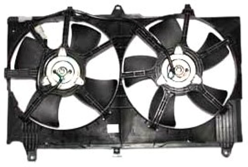TYC 620980 Infiniti/Nissan Replacement Radiator/Condenser Cooling Fan Assembly
