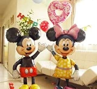 Globo Gigante de Mickey Minnie Mouse de 112 cm con diseño de ...