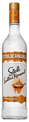 Stolichnaya Stoli Salted Karamel flavoured Vodka 37,5% 0,7l Flasche