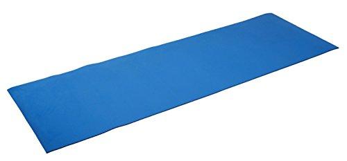 silly.con Fit & Fun 14012 - Fitness- und Yogamatte, blau, aus EVA - Schaumstoff, ca. 173 x 61 x 0,5 cm