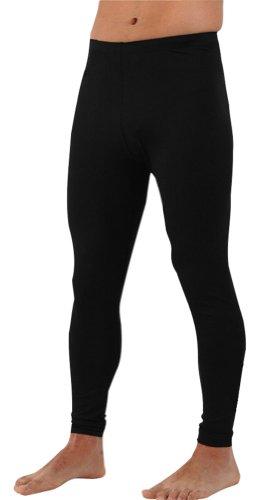 Plus Size Swim Pants - Swim Tights - Swimming Pants for Men and Women (Black, 6XL)
