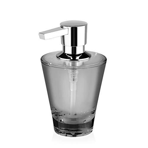 Recargable Versátil jabón dispensador con líquidos de limpieza dispensadores de jabón o empujar Jabón Jabón bomba de mano for la cocina encimera de baño 200ml Dispensador de Baño ( Color : Gris )