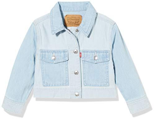 Levi's Kids Baby-Mädchen Lvg Soft + Light Core Coat Trucker Jeansweste, Capri, 2A