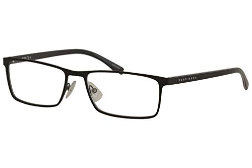 Hugo Boss Brillengestelle BOSS0767-QIL-57 Monturas de gafas, Negro (Schwarz), 55.0 para Hombre