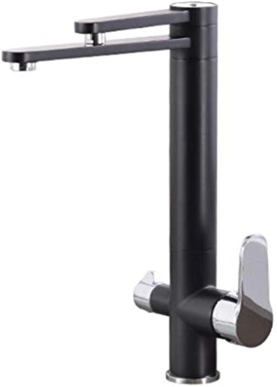 Wasserhahn Küchenarmatur schwarz Kitchen Faucet Drink Water Taps For Kitchen 360 Rotation With Water Purification Features Kitchen Mixer Water Tap