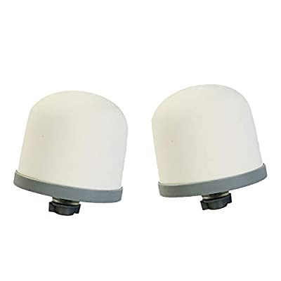 HUINING Ceramic Dome Replacement Filter for Zen Water Systems 2PC