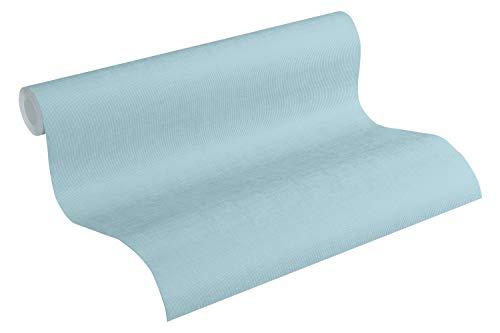 Esprit Vliestapete Tapete gestreift 10,05 m x 0,53 m blau Made in Germany 365277 36527-7