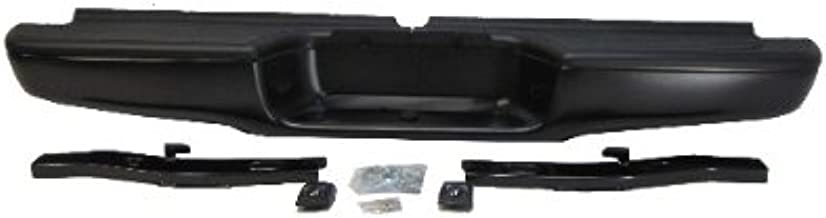 95-04 TOYOTA TACOMA REAR STEP BUMPER POWDER COATING BLACK FULL ASSY (OEM TYPE) WITH PAD WITH BRACKETS W/TOW BALL HOLE (FOR STANDARD BED ONLY) Powder coating is mainly used for coating of metals. It is usually used to create a hard finish that is tougher than conventional paint.
