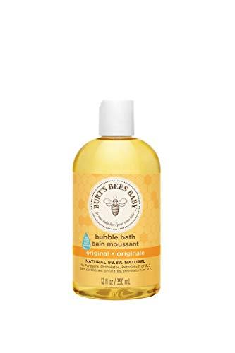 Burt's Bees Baby Sanftes Schaumbad und Waschgel, 350 ml Flasche