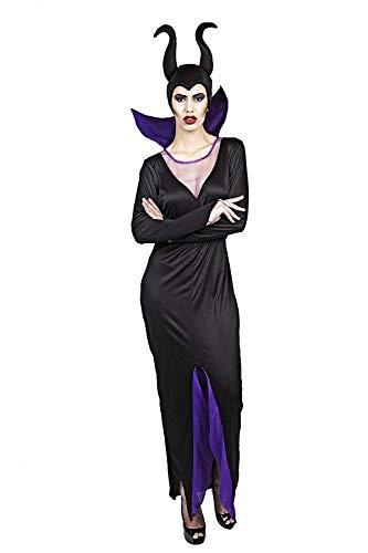 Costumizate! Disfraz de Bruja Malvada para Mujer Adulta Especial para Fiestas de Disfraces y Carnaval Talla Unica