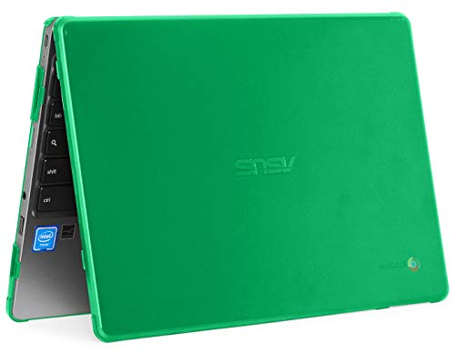 best sleeves for asus chromebook flip c214 in 2021 mCover Hard Shell Case for 2019 11.6-inch ASUS Chromebook C223NA/CX22NA Series Laptop (Green)